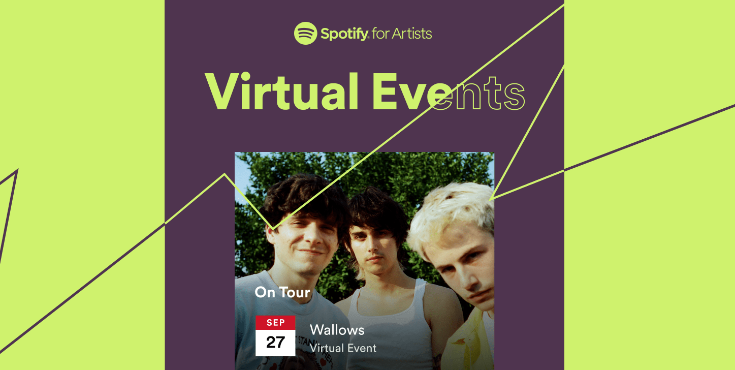 Spotify To Begin Listing Virtual Events On Artist Pages