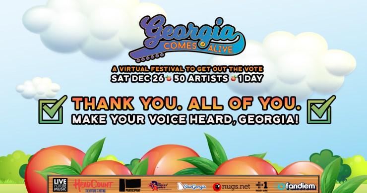 georgia comes alive, georgia comes alive fundraising, georgia comes alive virtual festival