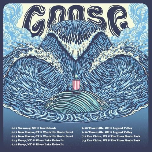 goose, goose spring 2021, goose tour spring 2021, goose westville