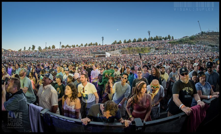 Phish Completes A Gorgeous Two Night Stand At The Gorge
