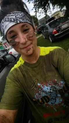 Post-run dirty selfie!