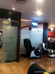 The American Express Platinum Lounge
