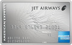 The Jet Airways American Express Platinum Credit Card