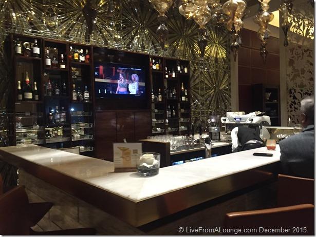 Bar, GVK Lounge, First Class