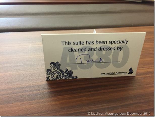SQ Suites Tentcard