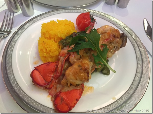 SQ Suites Lunch Service: Classic Lobster Thermidor (Book-the-cook)