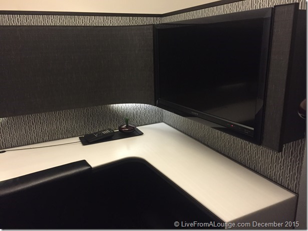 ANA Suite Lounge Cubicles