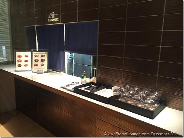 ANA Suite Lounge Noodle Bar