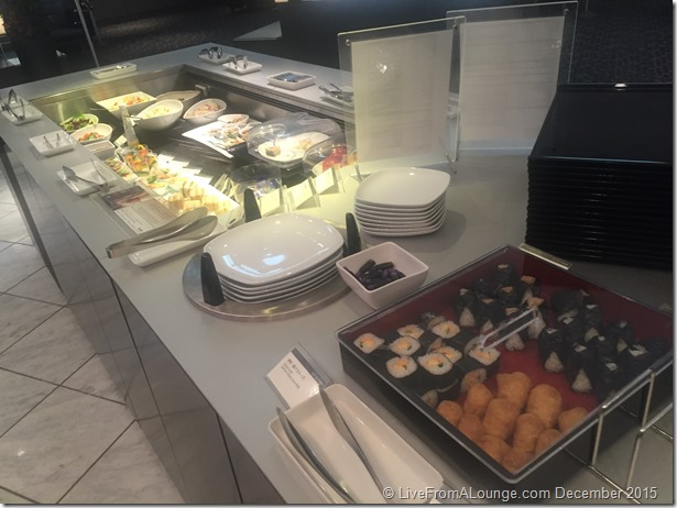 ANA Suite Lounge  Buffet