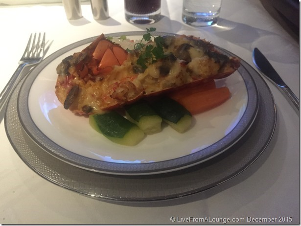 SQ Suites: Book-the-cook Lobster Thermidor