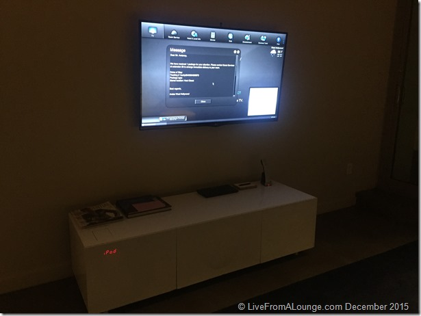Andaz West Hollywood Penthouse Suite Living Room Television