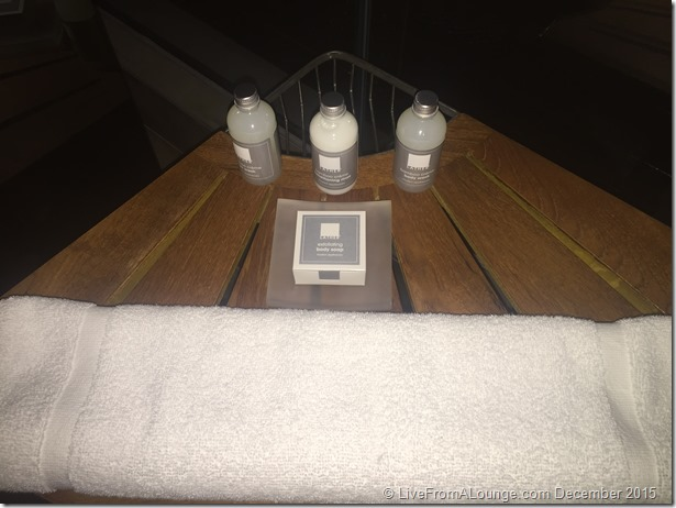 Andaz West Hollywood Penthouse Suite Bath Amenities