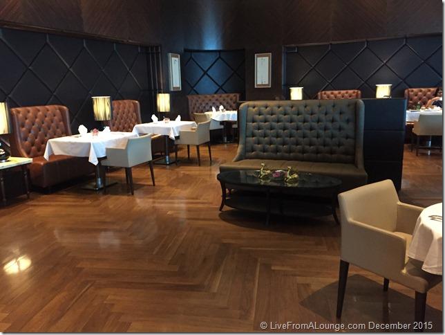 Restaurant Area, The Private Room