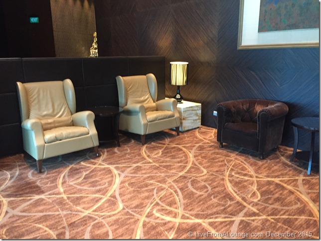 Seating, The Private Room