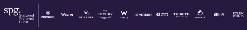 SPG Hotel brands