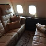 """Etihad """"The Residence"""" Living Room Couch + Ottoman"""