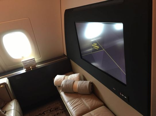 "Etihad ""The Residence"" Living Room Entertainment"