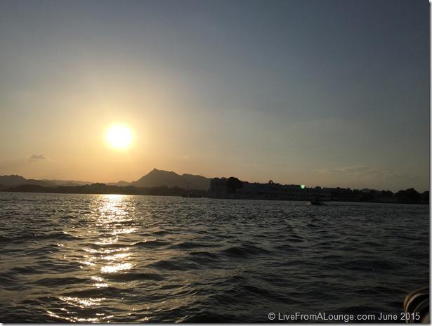 Sunset at Lake Pichola