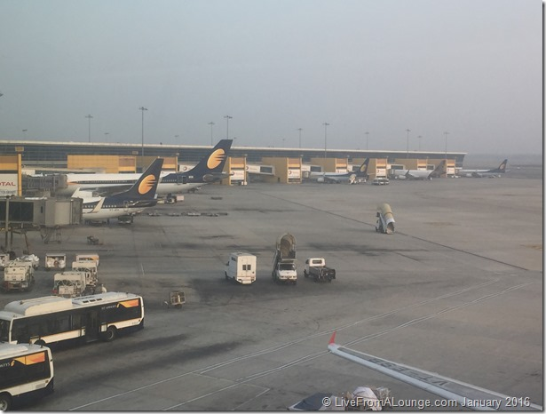 Delhi Airport Terminal 3 Tarmac