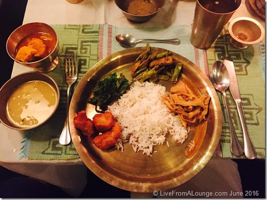 The Bhojan Griha Meal