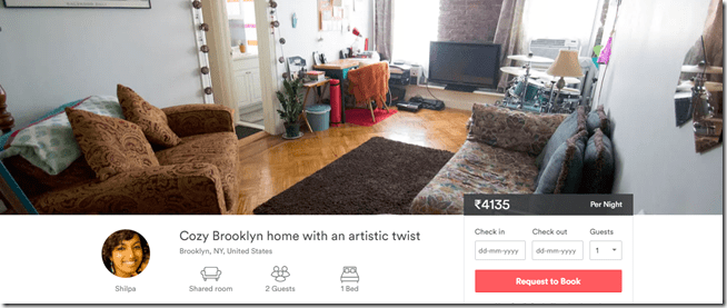 Airbnb brooklyn apartment