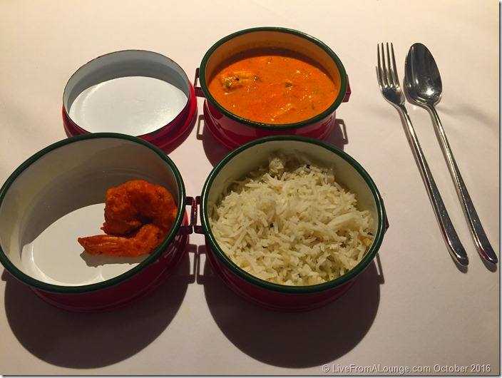 Crab Curry Coconut Rice