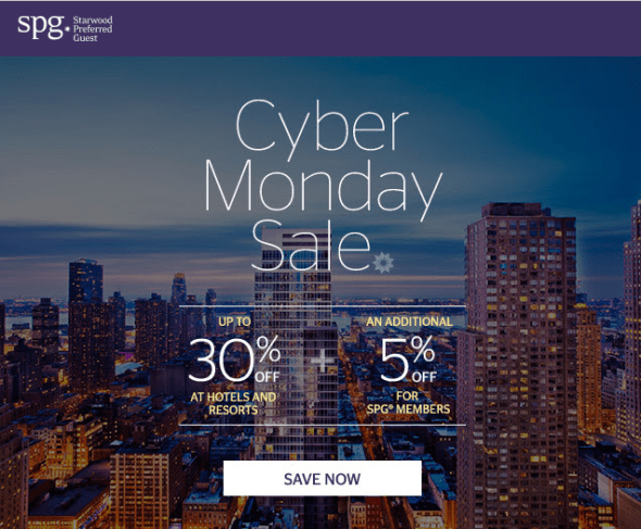 spg cyber Monday sale