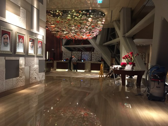 Hyatt Capital Gate_Lobby