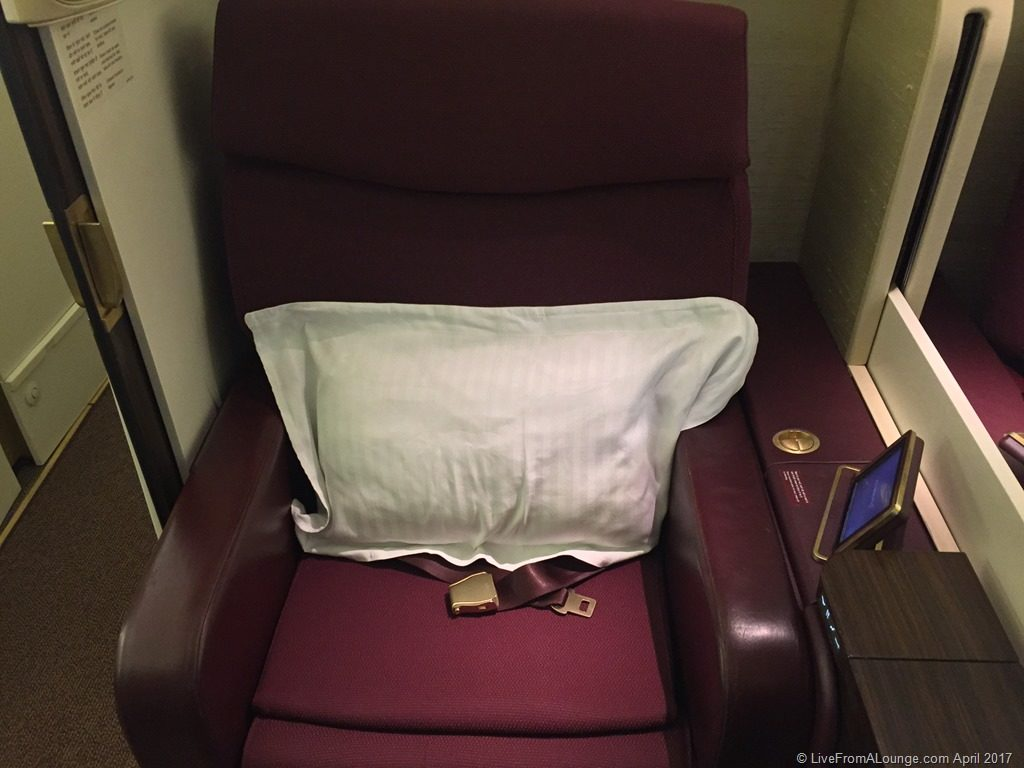 Jet Airways First Class Suite