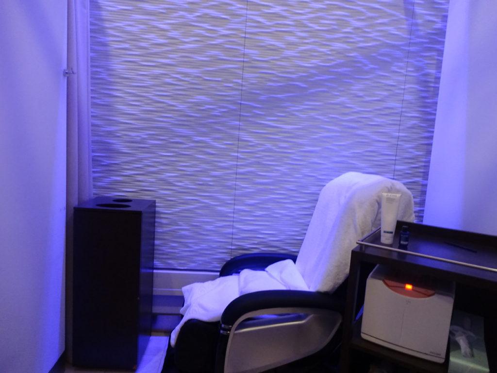 British Airways Elemis Spa Massage Chair