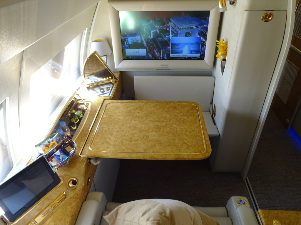 Emirates Executive Jet Private Suite Rear view