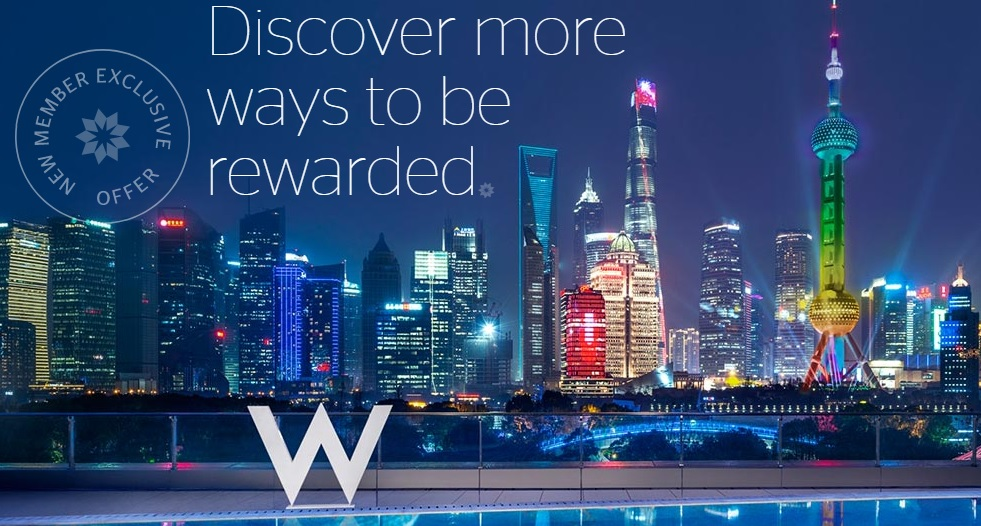 Starwood Member Exclusive offer