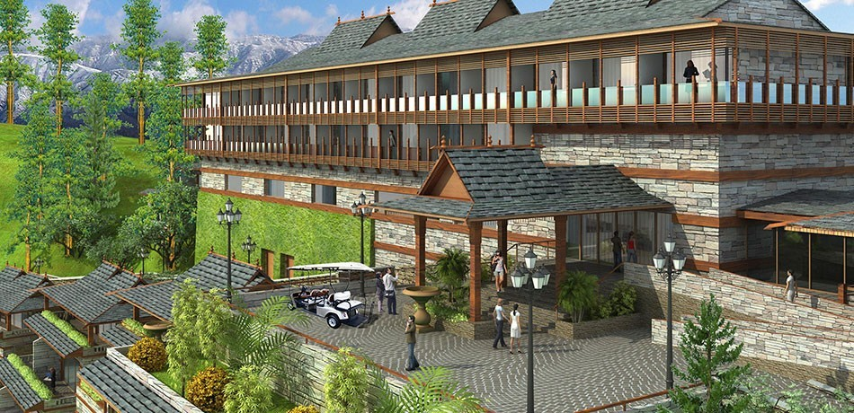 Indian Luxury Hotels: Taj Theong Resort & Spa Shimla