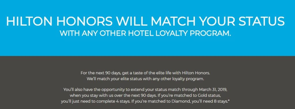 Hilton Honors Hotels
