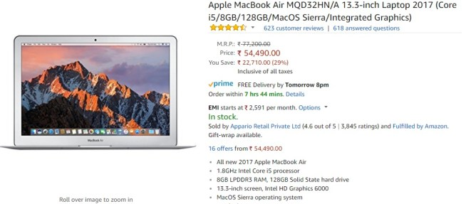 Amazon sale India