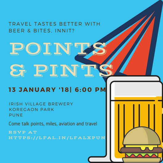 Points And Pints pune 2018