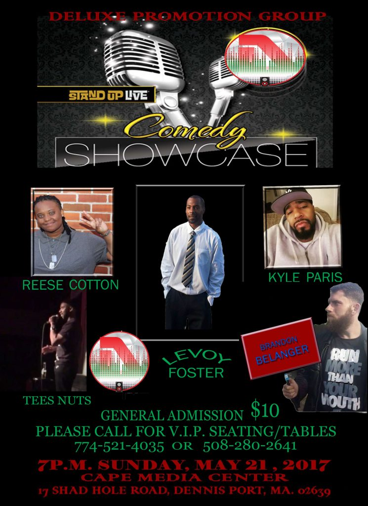 COMEDY SHOWCASE MAY 21