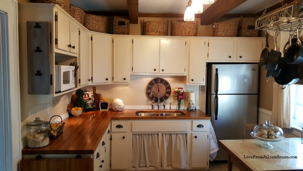 Tiny DIY Budget Cottage Kitchen Renovation