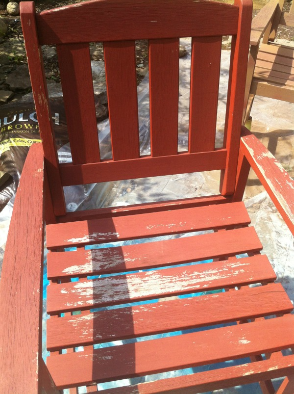 old patio chairs