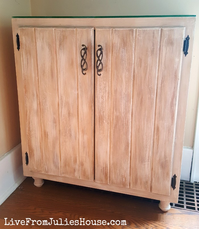 Restore Kitchen Cabinets: Meet My New DIY Liquor Cabinet
