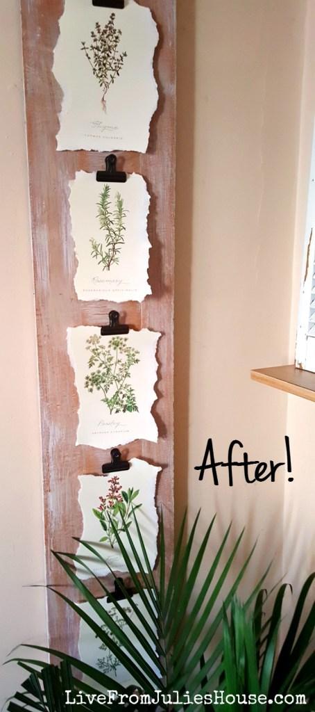 DIY Budget Art with FREE botanicals