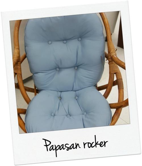 papasan rocker