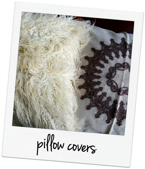 Hobby Lobby pillow covers