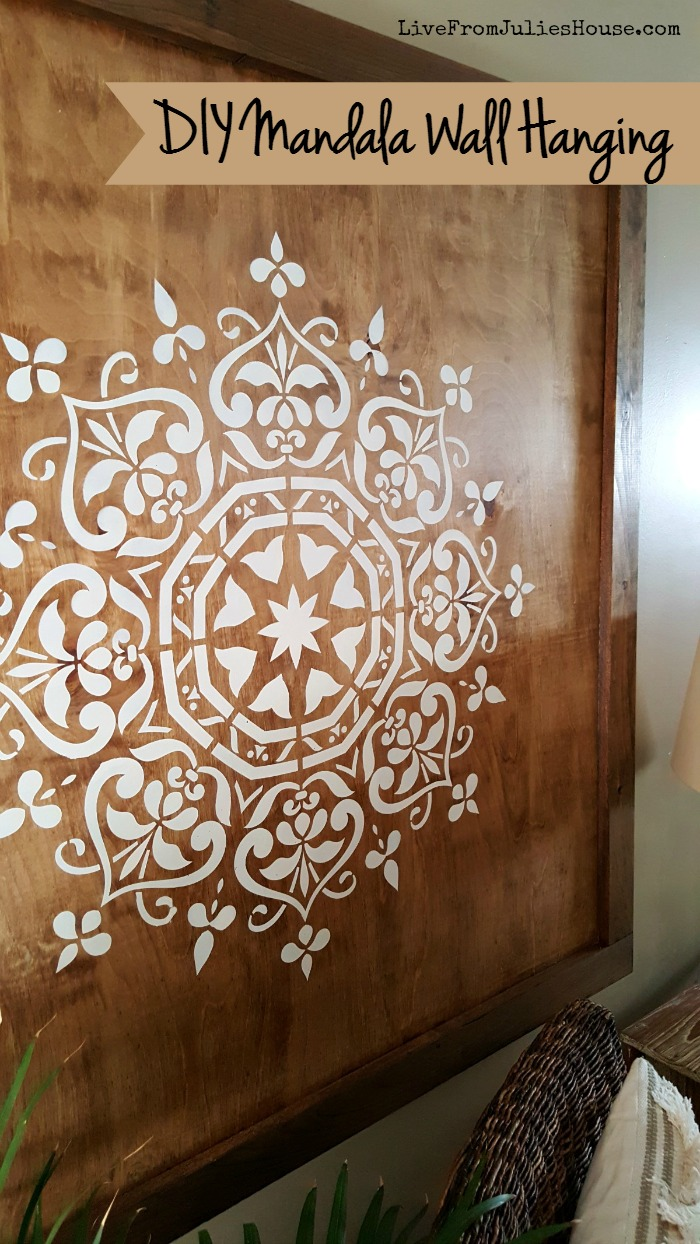 Diy Mandala Wall Hanging Live From Julie S House