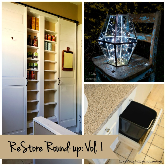 ReStore Round-up: Vol. 1 - Not sure what to do with your ReStore treasures? Check out ReStore Round-up: Vol. 1 - a baker's dozen of creative ReStore transformations.