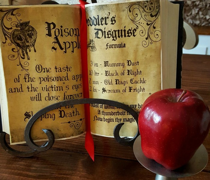 Halloween Decor on the Cheap: Spooky Spell Books