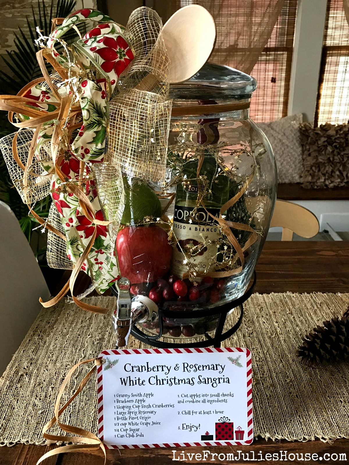 Holiday Gift Idea: Winter Sangria Kit