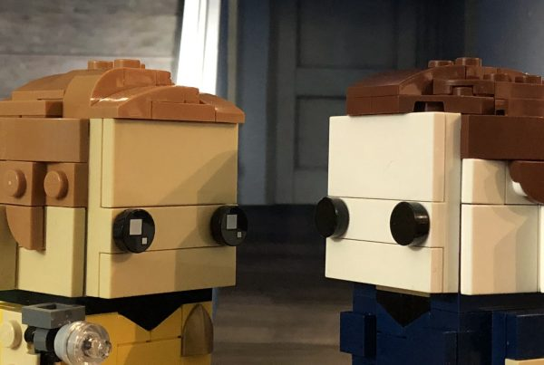 LEGO Brickheadz Captain Kirk & Michael Myers