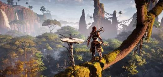 Красоты Horizon Zero Dawn