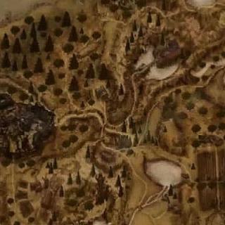 Карта области Хориниса - игра Готика 2